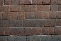 Inca wall detail Stock Photo