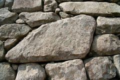 Inca wall detail Stock Images