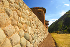 Inca wall Stock Photos
