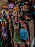 Inca Warrior Figurine Stock Images