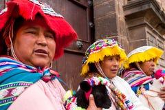 Inca Women Royalty Free Stock Photos