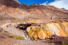 Inca's Bridge near Mendoza Royalty Free Stock Images