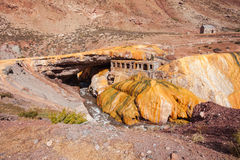 Inca's Bridge near Mendoza Royalty Free Stock Photo