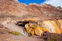 Inca's Bridge near Mendoza Royalty Free Stock Photos
