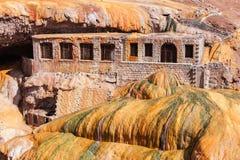 Inca's Bridge near Mendoza Stock Image