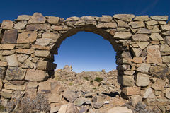 Incan arch Royalty Free Stock Images