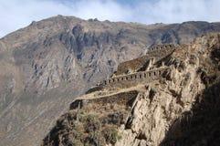 Incan fördärvar Arkivbilder