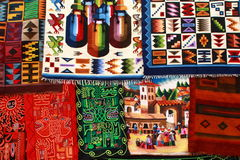 Incan Rug Royalty Free Stock Photography