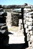 Incan ruins- Bolivia Stock Image