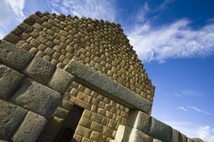 Incan ruins at Ingapirca Royalty Free Stock Photo