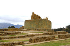 Incan ruins at Ingapirca Stock Photography