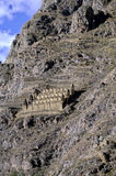 Incan ruins- Sacred Valley, Peru Stock Photos