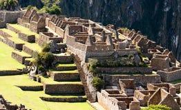 Incan ruiny Mach Picchu w Peru Fotografia Royalty Free