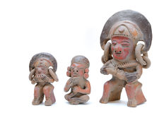 Incan Sculptures Royalty Free Stock Photos