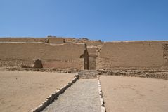 Incan Temple Of The Sun Royalty Free Stock Image