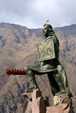 Incan warrior statue Stock Photos