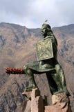 Incan warrior statue stock photos