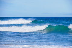 Incandescência das ondas de oceano Victoria, Austrália Fotos de Stock Royalty Free