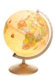 Incandescência do globo do mapa do mundo do vintage Fotos de Stock