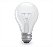 Incandescent electric lamp Royalty Free Stock Images