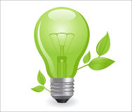 Incandescent electric lamp Royalty Free Stock Photo