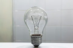 Incandescent lamp. Royalty Free Stock Photo