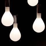 Incandescent lamps Stock Photos