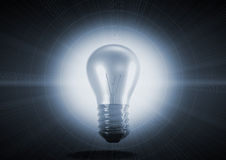 Incandescent light bulb Royalty Free Stock Images