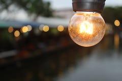 Incandescent light bulb Royalty Free Stock Photos