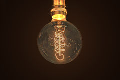 Incandescent light bulb Stock Photo
