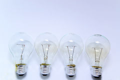 Incandescent light bulb Royalty Free Stock Photography