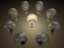 Incandescent Light Bulb Stock Photos
