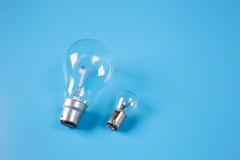 Incandescent light bulbs Stock Image