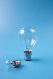 Incandescent light bulbs Stock Photos