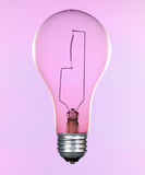 Incandescent lightbulb Stock Image