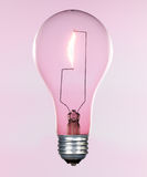 Incandescent lightbulb Stock Photography