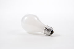 Incandescent Lightbulb Stock Photo