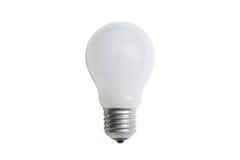 Incandescent matt light bulb E27 Royalty Free Stock Image