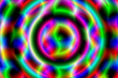 Incandescenza al neon Fotografia Stock Libera da Diritti