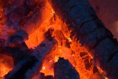Incandescenza del fuoco Fotografie Stock