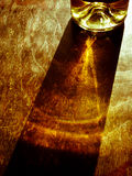 Incandescenza del vino Fotografia Stock