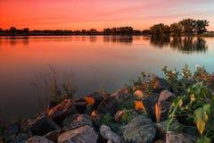 Incandescenza di estate fotografie stock libere da diritti
