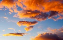Incandescenza di tramonto immagine stock