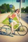 Incanto della bici fotografia stock