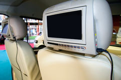 Incar cinema setup Stock Photo