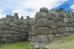 Incas ancient ruins of Sacsayhuaman Stock Photo