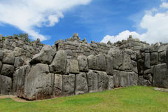 Incas ancient ruins of Sacsayhuaman Royalty Free Stock Photography