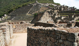 Incas city Machu-Picchu Royalty Free Stock Photography