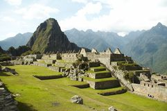 Incas city Machu-Picchu Royalty Free Stock Images