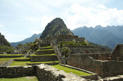 Incas city Machu-Picchu Stock Images